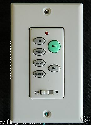 Ceiling Fan Remote Wall Control UC-9050T with UP light and Down light no reverse