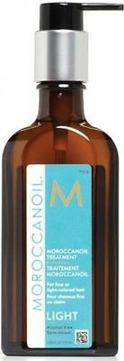 (€31,59/100ml) MOROCCANOIL Arganöl  Styling & Pflege 125ml light + BONUS