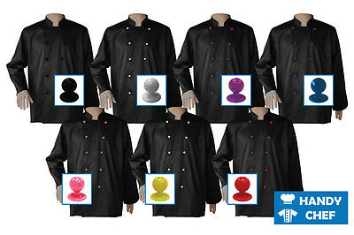 Chef Jackets Black - See Handy Chef for Chef Pants, Chef Caps, Chef Aprons, etc