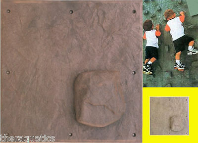Foot Hold Hand Hold Rock Climb One Stone Climbing Panel DIY PLAYGROUND Rock Wall