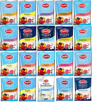 Easiyo Yogurt Mixes Pick N' Mix 20 Delicious Flavours to Choose From