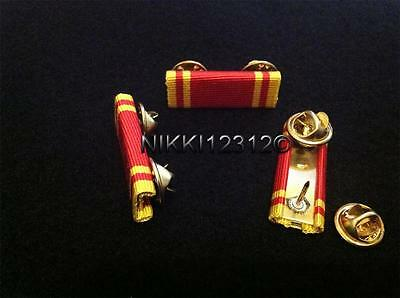 Fire Long Service Good Conduct Medal Ribbon Bar (Pin On)