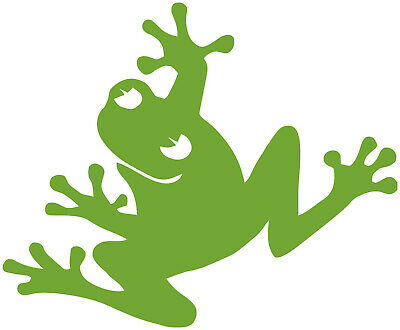 Frog Stretched Vinyl Decal Your Color Choice Sticker