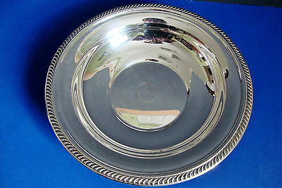 F.B. ROGERS Silverplated Round Serving dish/bowl Bowls, Post-1940 - Silverplate