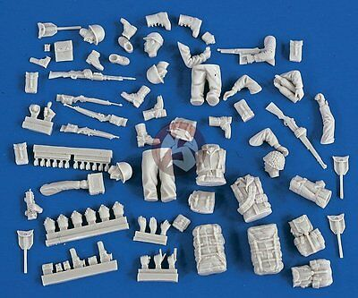 Verlinden 1/35 Figure Conversion Parts : US Army G.I. Europe WWII 2113