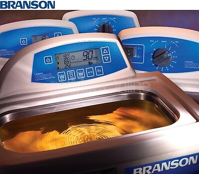 Branson CPX5800 2.5 Gal. Ultrasonic Cleaner w/Digital Timer, CPX-952-519R