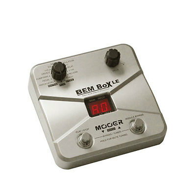 Mooer BEM Box LE Bass Guitar Multi Effects Processor - 55 Effects Types