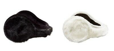 180s Women's Vail Faux Fur Adjustable Ear Warmers Winter Earmuff Muff NEW IN BOX