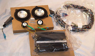 BMW E81 E82 E87 E88 1 Series E90 E91 E92 E93 3 Series Alpine Hi Fi Audio Upgrade