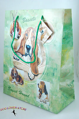 Basset Hound Dog Gift Present Bag