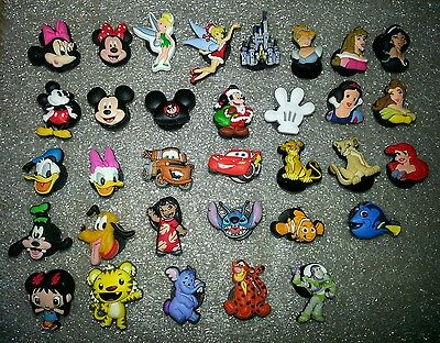 DISNEY JIBBITZ shoe charm,Authentic Genuine Licensed,Lots of Characters,Princess