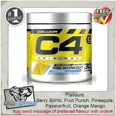 Cellucor C4 60 Serve | C4 Pre Workout | C4 Original | C4 | Dust | Gat Nitraflex