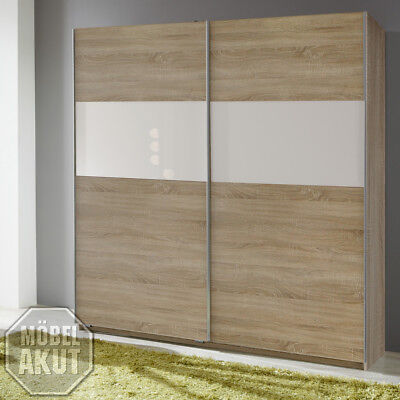 rauch kleiderschrank 181cm eiche sonoma schrank schlafzimmer flurschrank eur 499 00 picclick de. Black Bedroom Furniture Sets. Home Design Ideas