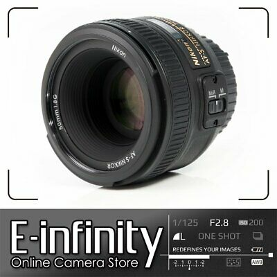 Nikon AF-S Nikkor 50mm f/1.8G for D5100 D3100 D7000 D90