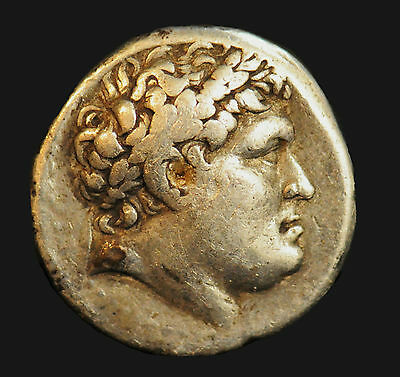 Aphrodite- Ancient Greek Silver Tetradrachm, Kingdom Of Pergamum