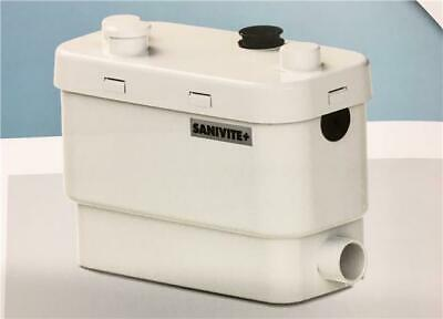 Saniflo Sanivite+ Sanivite Plus 6004 Kitchen Utility Grey Water Macerator Pump
