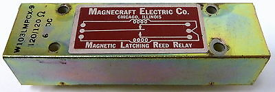 Magnecraft Electric Co. Magnetic Latching Reed Relay W103LMPCX-9 120V