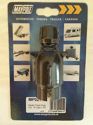 7 Pin Socket  'N' - Plastic. Towing Trailer/caravan Maypole MP021