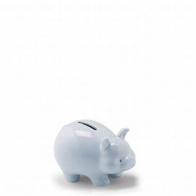 NWT Gund Small Blue Ceramic My First Piggy Bank 4.5""