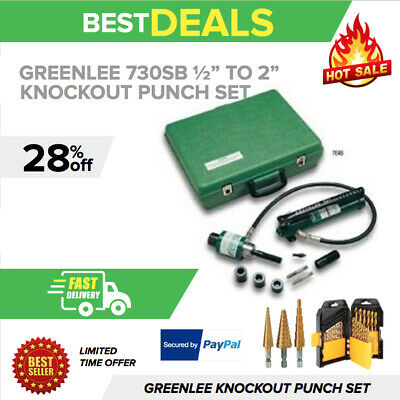 "Greenlee 7306Sb 1/2"" To 2"" Slug-Buster Ram And Hand Pump Hydraulic Driver"