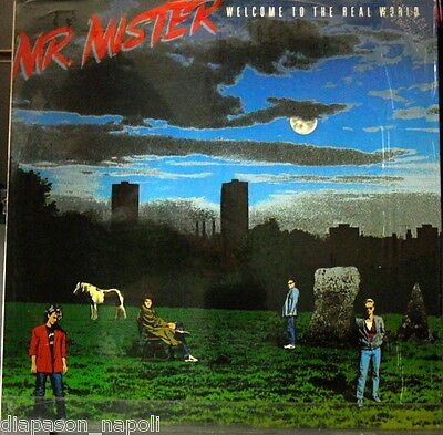 Mr Mister: Welcome To The Real World - LP Promo