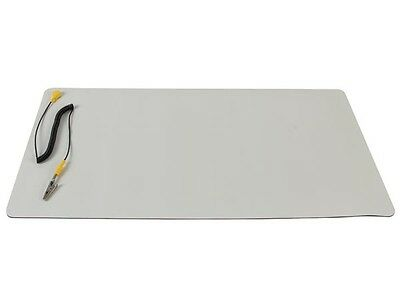 "Anti-Static Mat with Ground Cord - 11.8"" X 22""  ( AS4 )"