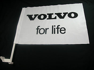 Volvo EZ Car Flags Car Window mounted clip on Closeout