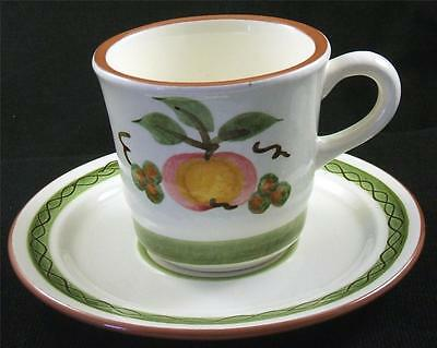 STANGL - APPLE DELIGHT - CUP & SAUCER