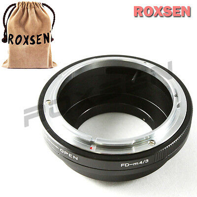 Canon FD mount lens to Olympus Panasonic Micro 43 4/3 Adapter E-PL5 PM2 G5 GH3