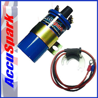 Bedford Rascal 1986-1990  AccuSpark electronic ignition  + Blue Sports Coil