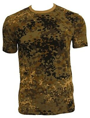 Tibet Camo Pattern Cotton ARMY T-SHIRT All Sizes Tibetan Camouflage Military Top