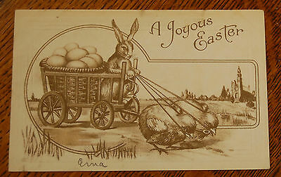 VINTAGE EASTER Postcard Greeting Cards Turn of the Century T