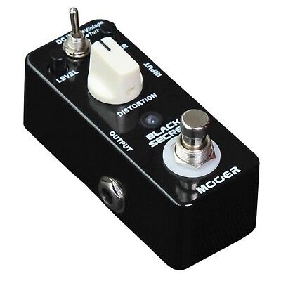 Mooer Micro Series Black Secret Distortion Effects Pedal - BRAND NEW