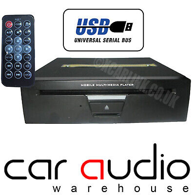 NESA DVD-100 - 3/4 or 1 DIN Dash/Boot Mount CD DVD MP3 VCD Front USB Car Player