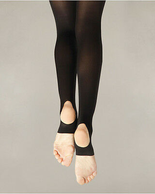 Body Wrappers Womens TotalSTRETCH® Camisole Body Stirrup Tights A93