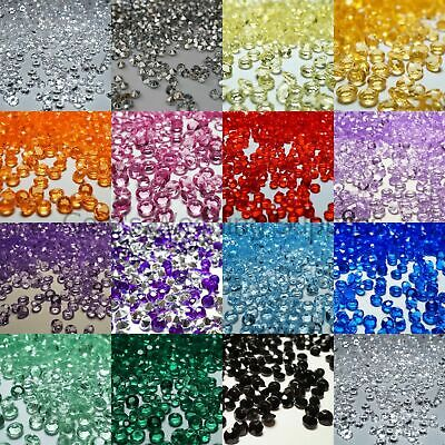 Crystal Diamond Confetti Table Scatters 4.5 mm x 5000 Wedding Decorations