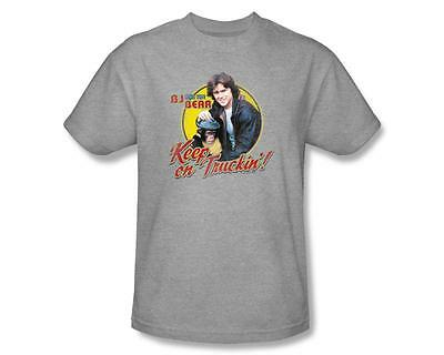 BJ and the Bear 70's TV Show Keep on Truckin'! Cast Picture T-Shirt Adult S-3XL