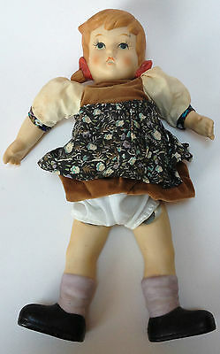 Vintage Oumlet Porcelain Bisque Gretel Doll Old AS-IS Fairy Tale
