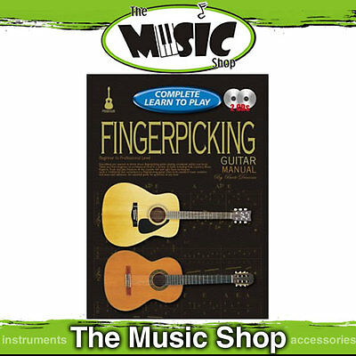 Progressive Complete Learn to Play Fingerpicking Guitar Manual - Book & 2 CD's