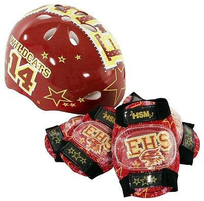 NEW High School Musical Hardshell Bicycle Helmet and Protective Pad Bike Hat