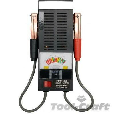 Yato professional analogue battery tester 6 & 12V, CCA 200-1000 A  (YT-8310)