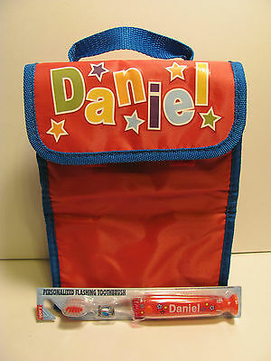 Daniel  Lunch Bag and Toothbrush       New