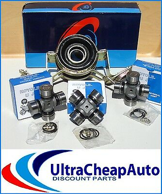2Wd  Toyota Hilux, 83-97 Centre Bearing Cb08 + 3 Universal Uni Joints Ruj2109