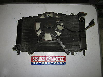 Yamaha FZR1000R FZR1000 FZR 1000 R EXUP 89 Radiator & Fan - Read Description