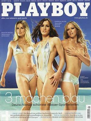 PLAYBOY 2007/09 [September 9/07] Isabella Syrek*Kristin Boese*Theresa Klein* TOP