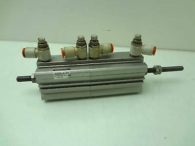 SMC NCDQ2B32-30+40DC-A72l4-XC10 Double Rod Pneumatic Air Cylinder