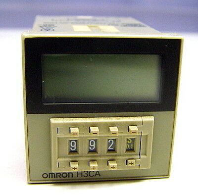 Omron DIN Sized Solid State Timer Digital Setting LCD H3CA-8H  H3CA8H 100110120