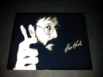 "Bill Hicks Pp Signed 10""x8"" Photo Repro Comedy Stand Up Goat Boy"