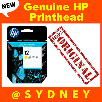 Genuine HP No. 12 C5026A Yellow Printhead fit Business Inkjet 3000,3000DTN,3000N