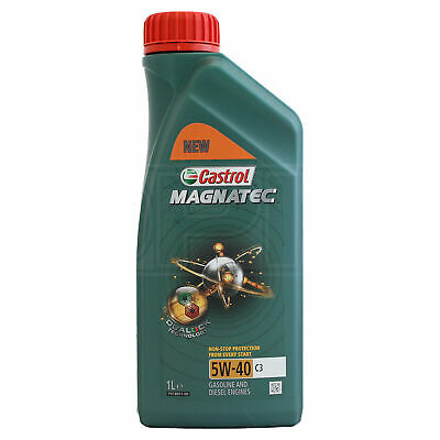 Castrol Magnatec 5W-40 C3 Fully Synthetic Engine Oil 5W40 1 Litre 1L